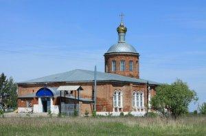 Георгиевская церковь с.Поплевино 0
