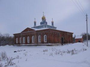 никольский храм Журавинка